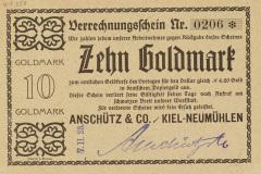 Anschuetz-Verrechnungsschein-Goldmark