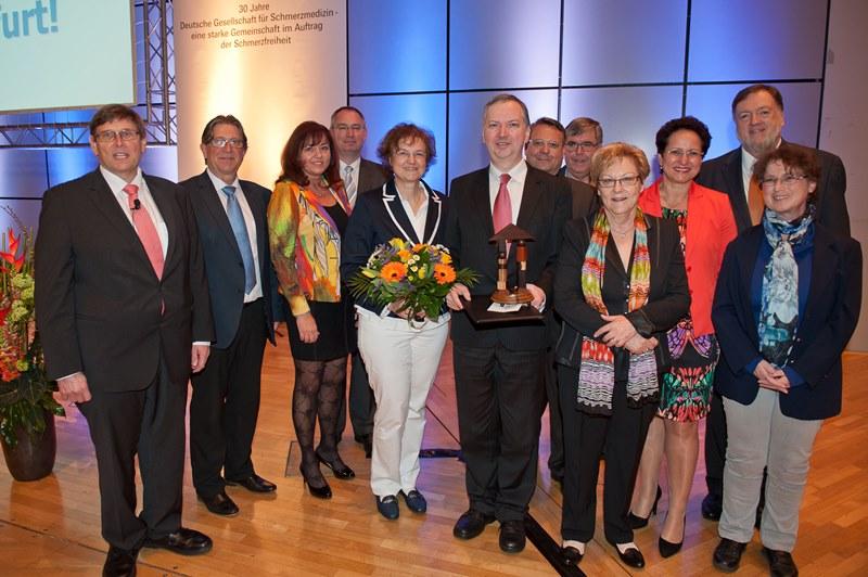 Deutscher Schmerzpreis 2014 Prof Hartmut Göbel Schmerzklinik Kiel