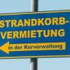 Strandkorb-Vermietung
