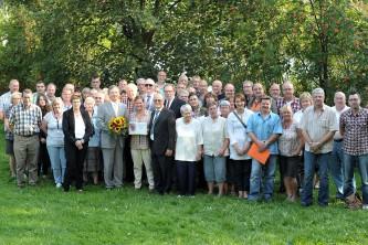 Verleihung Plakette Clusterkopfschmerz Comepetence Centrum durch die CSG