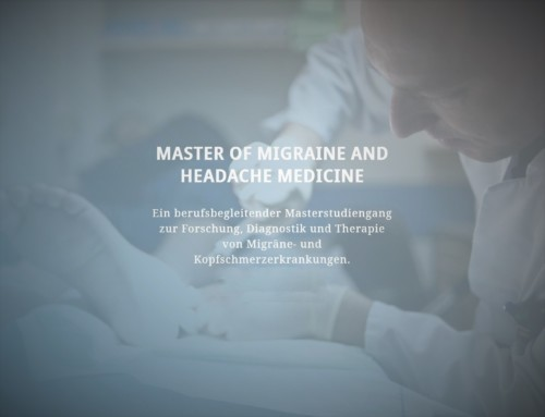 Neuer akademischer Studiengang Master of Migraine and Headache Medicine (MMHM) an der Universität Kiel