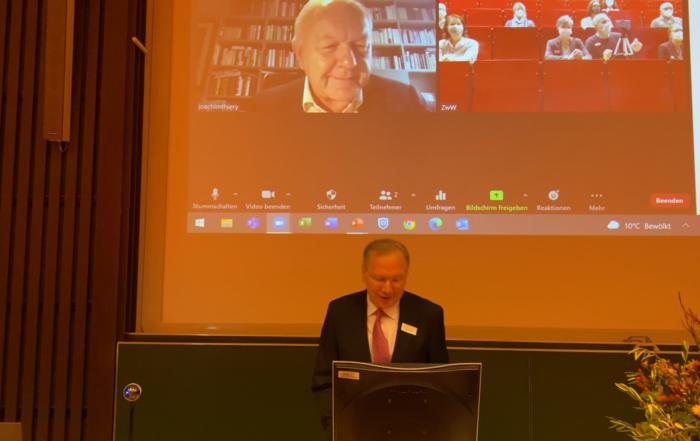 Grußwort des Dekans der Medizinischen Fakultät Prof. Dr. Joachim Thiery